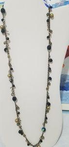 Vintage crown PD necklace